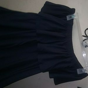 Nwt Sze L Navy blue sun dress